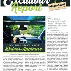 Excalibur Insurance Report August 2014