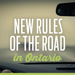 New Rules Of The Road In Ontario