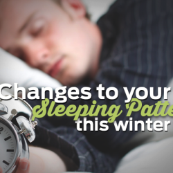 changes to sleep pattern