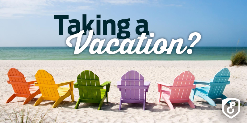 Taking a Vacation
