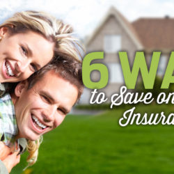 6 Ways to Save on Home Insurance Graphic