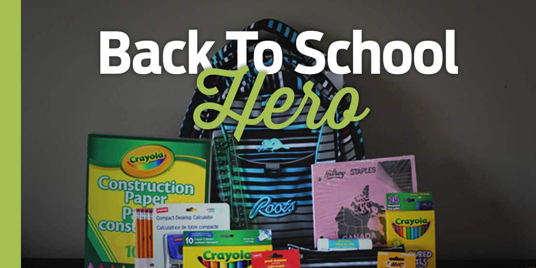Back To School Hero