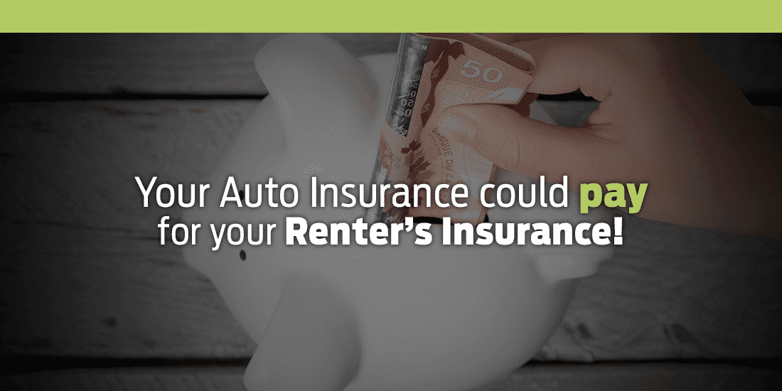 Your Auto Insurance Could Pay for your Renter's Insurance