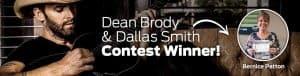 Dean Brody & Dallas Smith Contest Winner