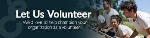 Let us Volunteer
