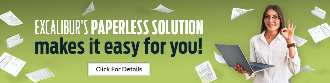 Excalibur Paperless Solution Makes it Easy for You!