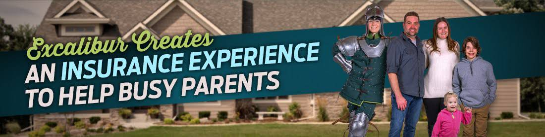 Excalibur Creates an Insurance Experience to Help Busy Parents