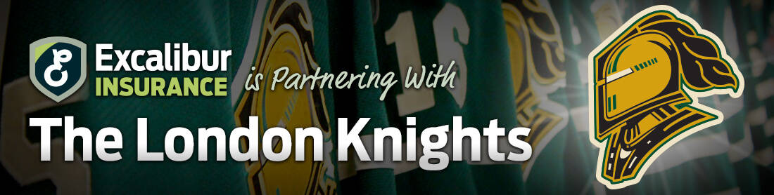 Excalibur Insurance is Partnering with The London Knights