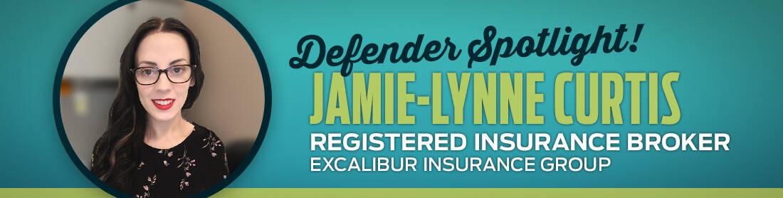 Defender Spotlight: Jamie-Lynne Curtis